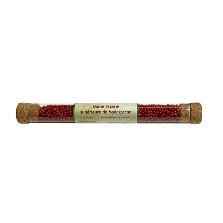 Tube de baies roses qualité supérieure - 30 gr 54665