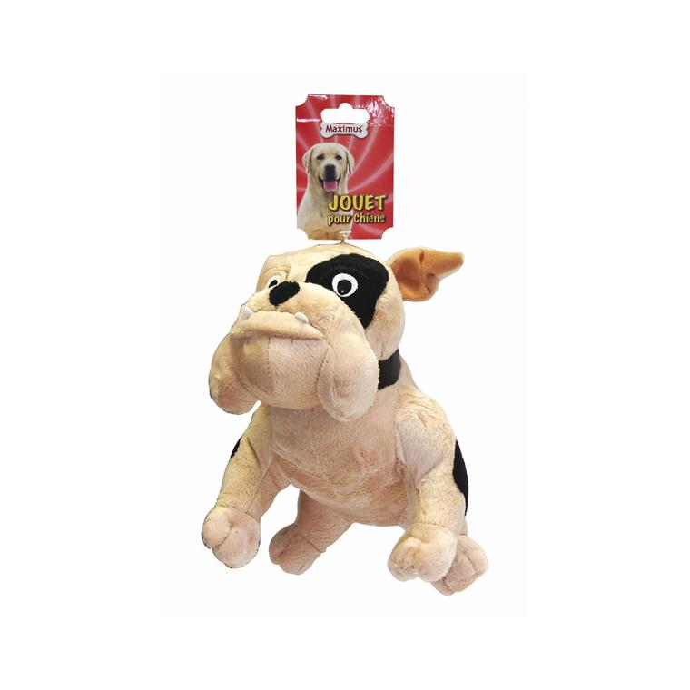 Jouet 26cm bulldog peluche pour chien 557771