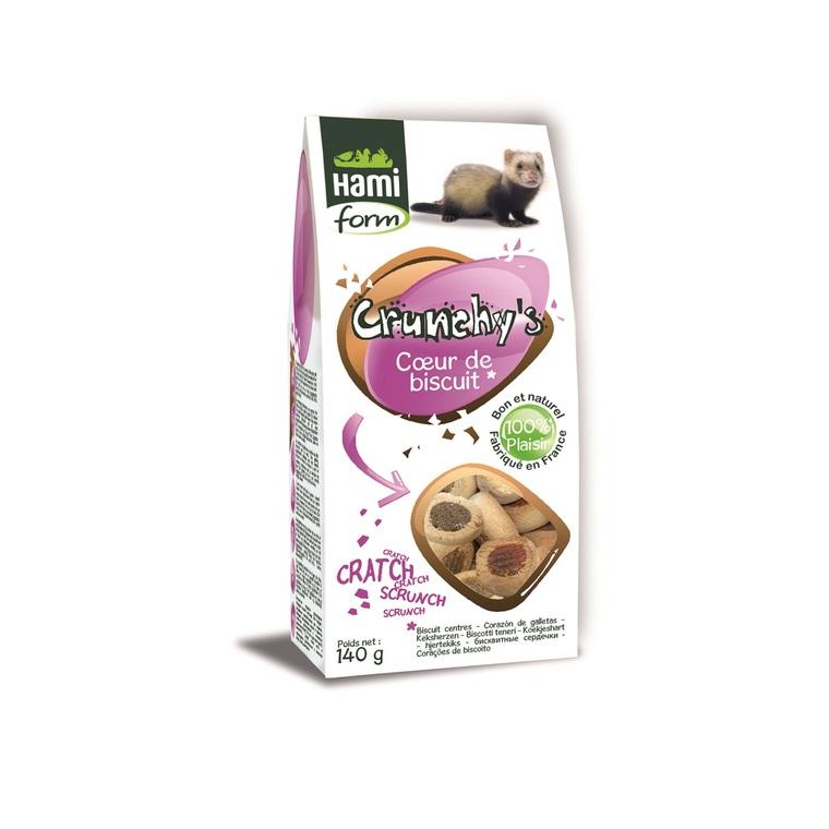 Cœur de biscuit furet 140 g 557831