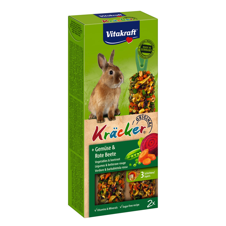 Kräcker lapins x2 légumes Vitakraft 110g 56910