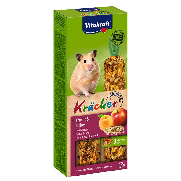 Kräcker hamsters x2 fruits Vitakraft 116g 56918