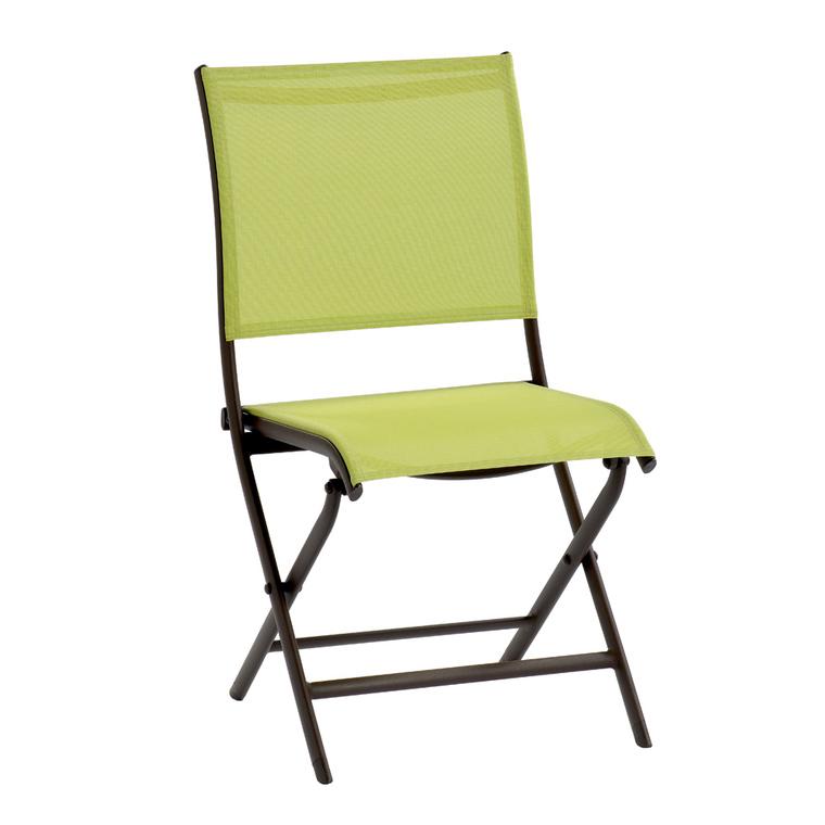 Chaise de jardin elegance verte botanic for Chaise longue jardin verte