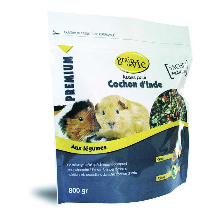 Repas cobaye premium legumes 800 g
