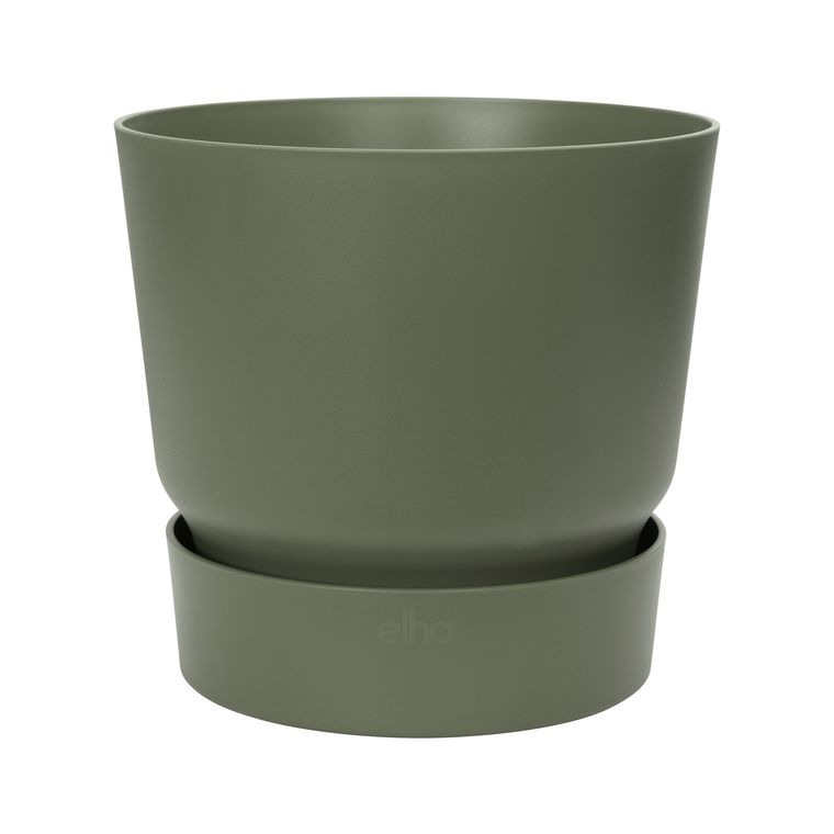 Pot Greenville rond de 55 L coloris vert Ø 47 x H 44 cm