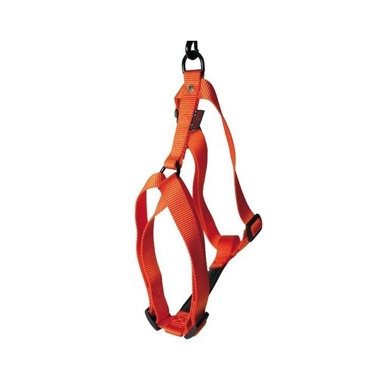 Harnais réglable orange 50/70cm Martin Sellier