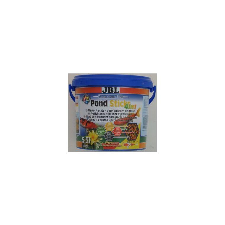 Aliment pour poissons Pond Sticks 4 en 1 / 5,5 L