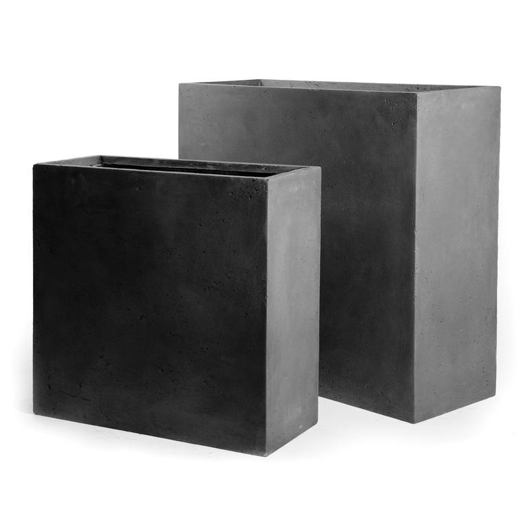 Bac Muret geneve l.60x30xh.50 gris