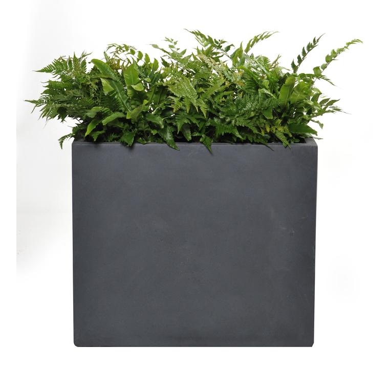 Bac Muret geneve l.70x40xh.60 gris