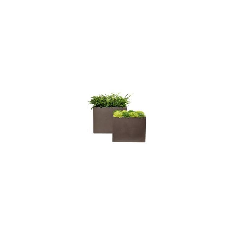 bac muret geneve taupe pots et contenants plantes mega collections nos produits. Black Bedroom Furniture Sets. Home Design Ideas