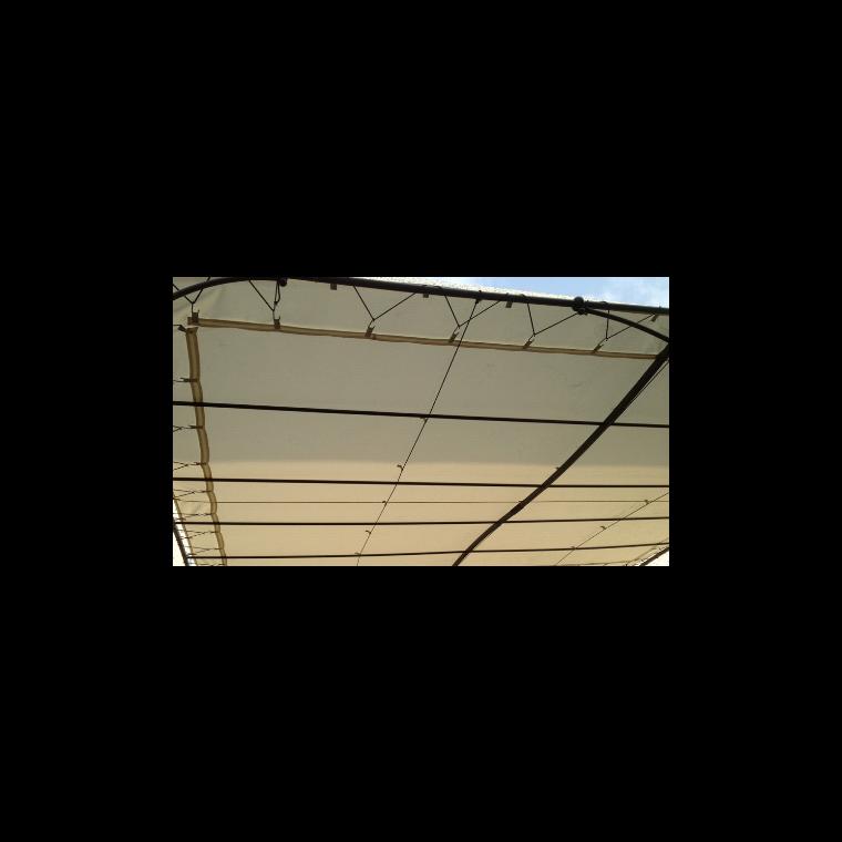 Toile d'ombrage universelle pour tonnelle couleur écru - 3x3m