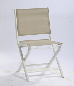 Chaise de jardin pliante basic plus kettler chaises de for Chaise kettler blanche