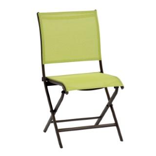 Chaise de jardin Elegance verte