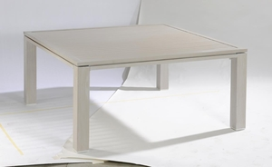 Table de jardin en aluminium Inspiration L 160 cm