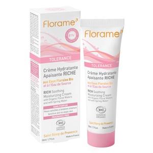 Crème Hydratante Apaisante Riche tube 50 ml blanc 611629