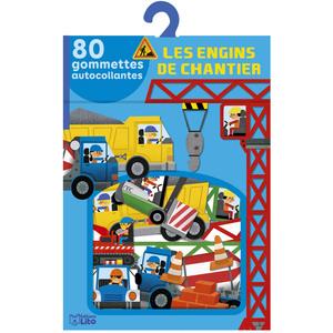 Les Engins de Chantier Mes Gommettes Lito 3 ans Éditions LITO 612243