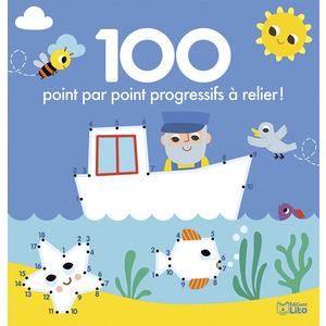 100 Point par Point Progressifs à Relier 100 Images à Colorier 4 ans Éditions Lito 612253