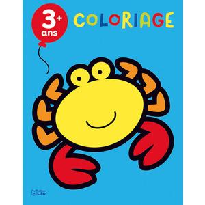 Les Animaux de la Mer Mon Premier Bloc de Coloriage 3 ans Éditions Lito 612256
