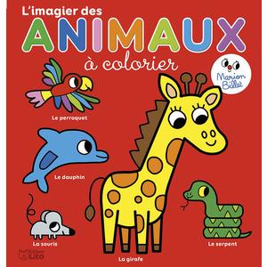 L'imagier des Animaux à Colorier Coloriage Maternelle Marion Billet 3 ans Éditions Lito 612257