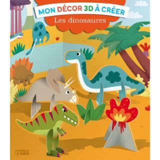 Les Dinosaures Mon Décor 3D à Créer 4 ans Éditions Lito 612274