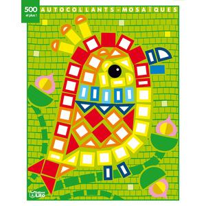 Le Perroquet Mes Petits Tableaux en Autocollants Mosaïques Brillants 3 ans Éditions Lito 612277