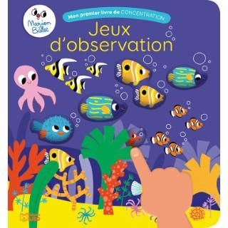 Jeux d'Observation Mon Premier Livre de Concentration 3 ans Éditions Lito 612285