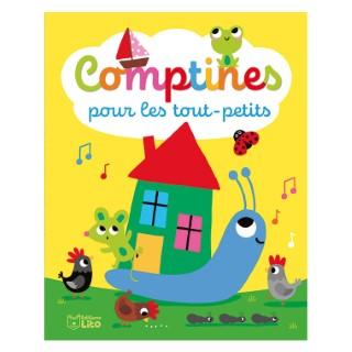 Comptines Pour les Tout-Petits Comptines pour la Maternelle 18 mois Éditions Lito 612294