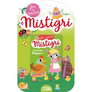 Mistigri – Joyeuses Pâques ! Jeux de Mistigri  3 ans Éditions Lito 612297