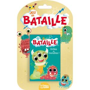 Bataille Drôles de Monstres Jeux de Bataille  4 ans Éditions Lito 612298