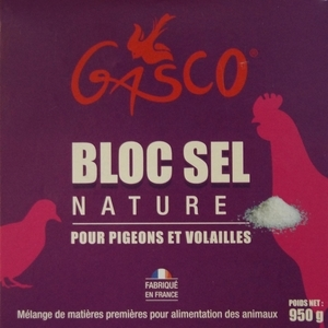Bloc sel nature 900 g 612792