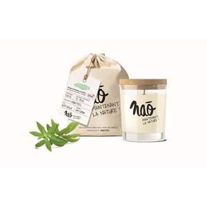 Bougie parfumée bio NAO, verveine, 84x75x105 cm