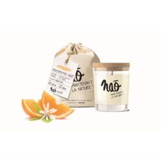 Bougie parfumée bio NAO, fleur d'oranger, 84x75x105 cm
