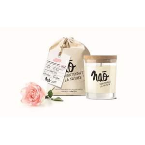 Bougie parfumée bio NAO, rose, 84x75x105 cm