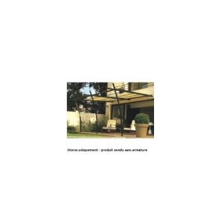Kit de 2 stores pour tonnelle adossée SYDNEY
