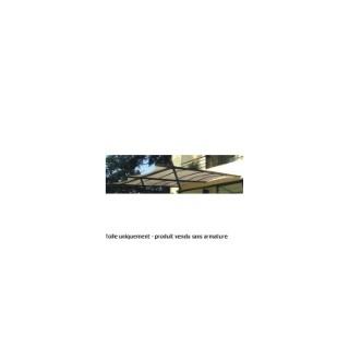 Toile d'ombrage extension tonnelle adossée SYDNEY