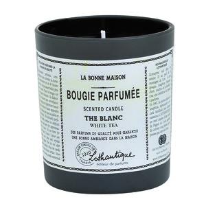 Bougie parf. The blanc 160g LOTHANTIQUE