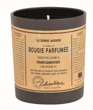 Bougie parf. Pamplemousse 160g LOTHANTIQUE