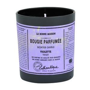 Bougie parf. Violette 160g LOTHANTIQUE