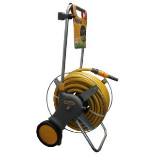 Dévidoir équipé tuyau 30m diamètre 19mm HOZELOCK