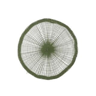 Set de table vert en matière naturelle Ø 38 cm 622780