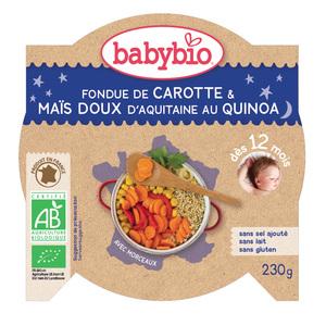 Mon Assiette Ptits légumes au Quinoa bio 230 g BABYBIO