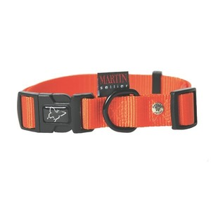 Collier chien réglable 20mm / 40-55cm orange 626677