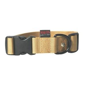 Collier chien réglable 40mm / 50-70cm beige 626682