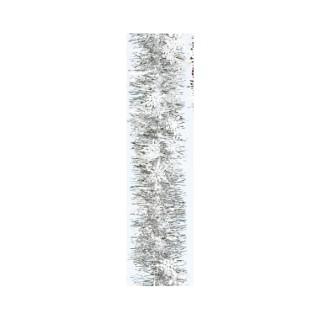 Guirlande blanche avec flocons