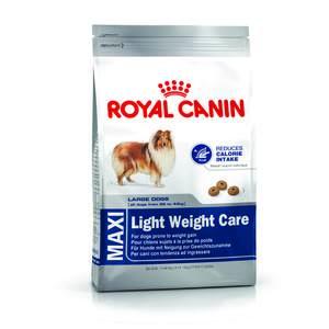 Croquettes Royal Canin Maxi light weight care 15 kg +3 offert 62717
