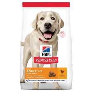 Croquettes canine adulte grandes races light 12 kg 633449
