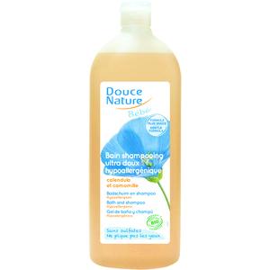Shampooing et bain bébé DOUCE NATURE