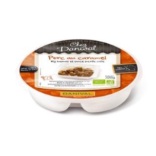 Porc au caramel et riz basmati 320 g DANIVAL