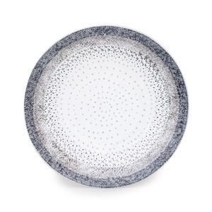 Assiette à dessert Stella grise en grès Ø 21 cm 634575
