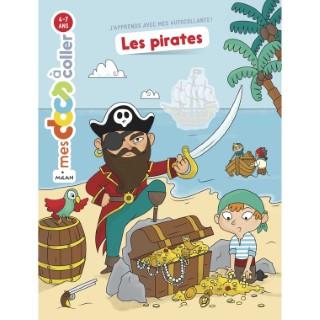 Les Pirates Mes Docs à Coller 3 à 6 ans Éditions Milan 635774