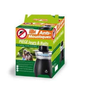 Piège Anti-Moustiques Extérieur 26x26x49,5 cm 640971
